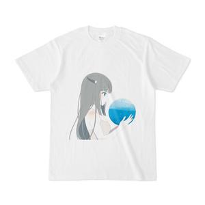 緋惺 Tシャツ -青を懐くver-
