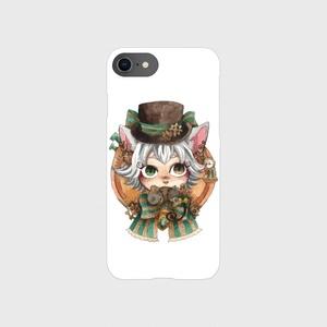 猫伯爵スマホケース(iPhone X/XS、iPhone6/6s/7/8)