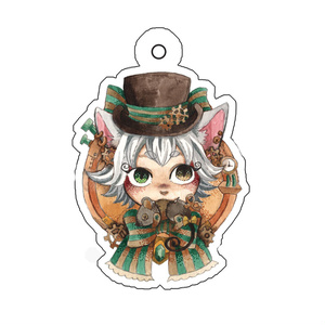 【2月上旬お届け】猫伯爵アクリルキーホルダー