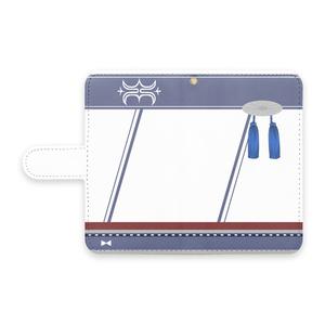 [pixiv factory製 Android用]神威改モチーフ手帳型スマホケース