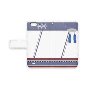 [pixiv factory製 iPhone用]神威改モチーフ手帳型スマホケース