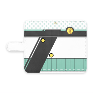 [pixiv factory製 Android用]秋津洲モチーフ手帳型スマホケース
