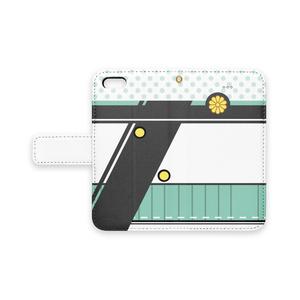 [pixiv factory製 iPhone用]秋津洲モチーフ手帳型スマホケース