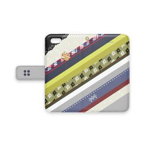 [pixiv factory製 iPhone用]アキラ水母モチーフ手帳型スマホケース