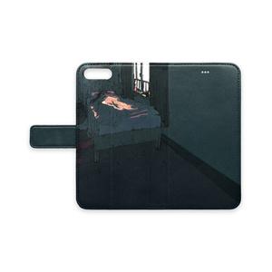 手帳型iPhoneケース 「寝室」