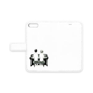 手帳型iPhoneケース 「連弾」