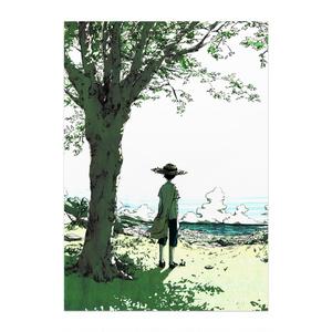 ポスター「木の下」