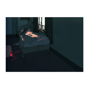 ポスター「寝室」