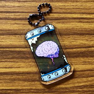 アクリルキーホルダー [脳ケース]