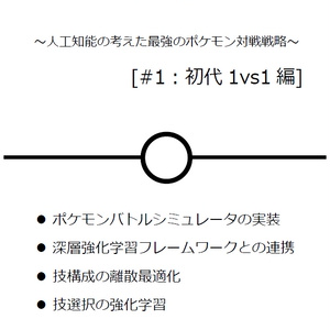 PokéAI #1:初代1vs1編 イベント購入者用電子版