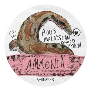 A003:Malaysian blood python ※繋ぎ目部分改変予定あり/Ammonia Masking tapes