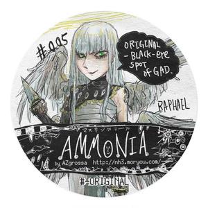 #005:ORIGINAL-BLACK-EYESPOT by GAD /Ammonia Masking tapes