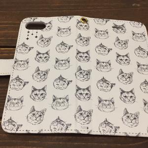 手帳型iPhone7ケース【Noah】