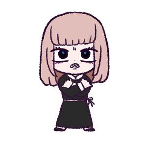 【my daughter】ステッカー