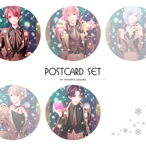 【マイフェバ】ポストカード(星降る聖夜のクリスマス)
