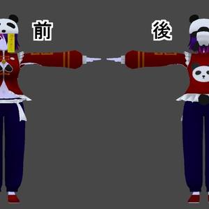 【オリジナル3Dモデル】リャンリャン