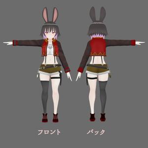 【オリジナル3Dモデル】ジャクリ