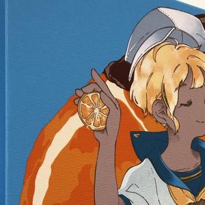 キャンバス印刷 『Orangette』