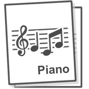 【楽譜】パッヘルベルのカノン(ピアノソロ中級)