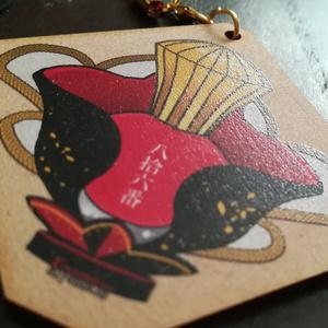清光イメージ爪紅・木製キーホルダー