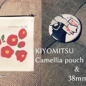 ★清光イメージ・椿ポーチ&缶バッジ