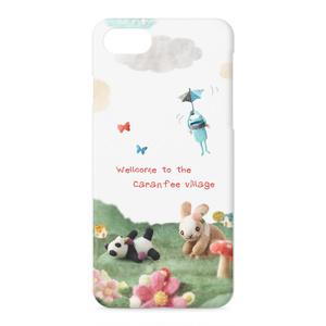 Wellcome カエルとパンダとうさぎの iPhone ケース