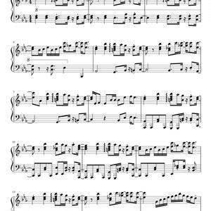 霖と五線譜 MIDI 楽譜
