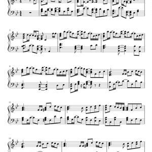 Connecting MIDI 楽譜(ワンコーラス)