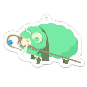 【FGO】ひつじのダビデアクリルストラップ(アクリルキーホルダー)