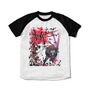 秋山理華 斬ラグランTシャツ