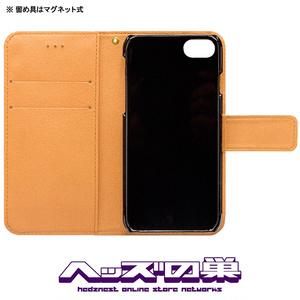 快楽ニードル 手帳型iPhoneケース BK