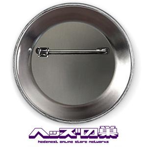 帯刀JK 8BIT缶バッジ ブラック
