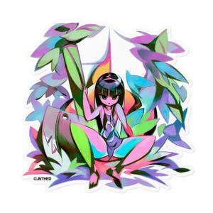 金太郎姫 ステッカー