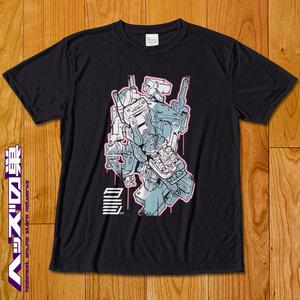 タニシ無線Tシャツ (黒)