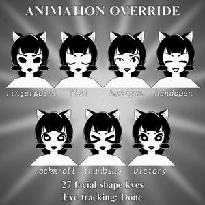 Inky Cat【3Dモデル】