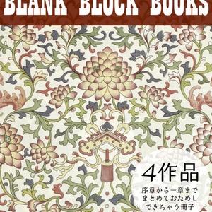 BLANK BLOCK BOOKSお試し本