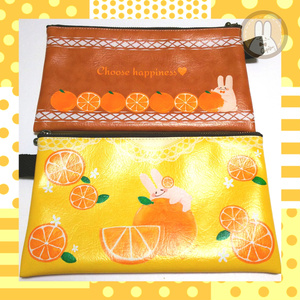 オレンジオランジェ♪【ポーチ】