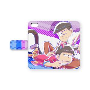 おそ松さん 色松iPhone5/5sカバー