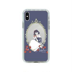 """""""りんご白雪姫"""" ミラー スマホケース Aタイプ 【iPhone】"""