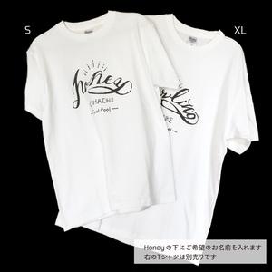 Honey-Tシャツ 半袖【名入れ可】