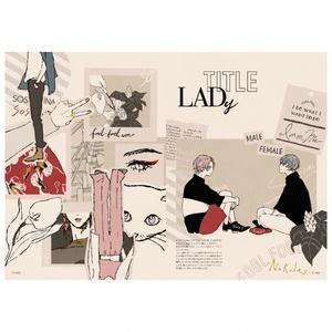 『LADy002』ジェンダーレスファッションイラスト集