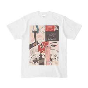 LADyコラージュTシャツ
