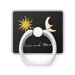 """スマホリング""""太陽と月""""2種"""