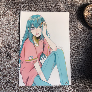 碧髪ポストカード