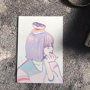 ドーナツポストカード
