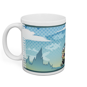 ねこ勇者の旅路マグカップ