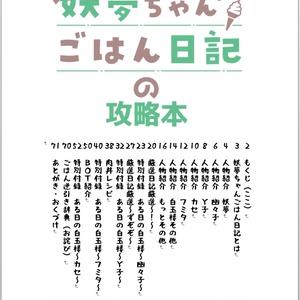 【小説?】妖夢ちゃんごはん日記の攻略本