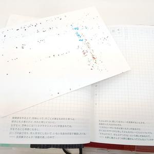 A6吸い取り紙(インクイラスト)