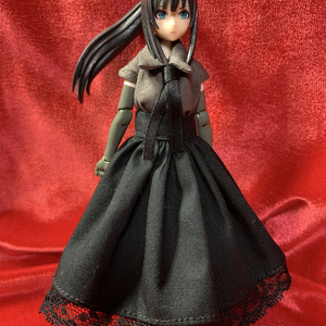 メガミデバイス用スカート 黒