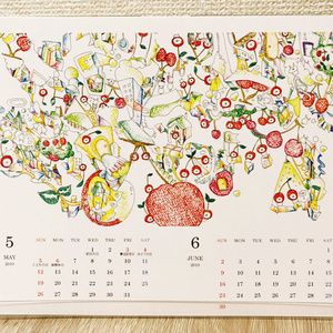 卓上カレンダー 2019年版